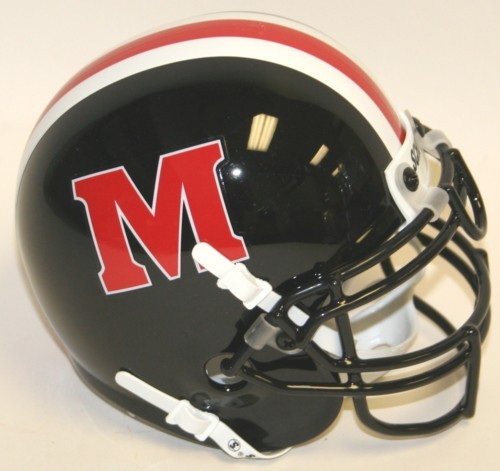 Maryland Terrapins 1992 96 Throwback Schutt Mini Authentic