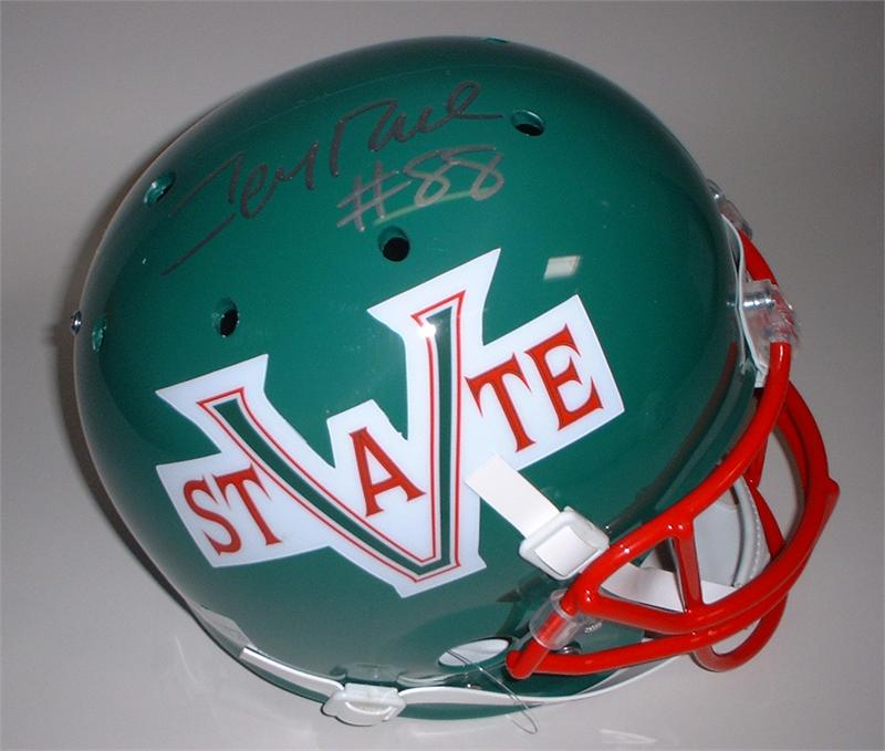 buy popular b652b 656ee Jerry Rice Autographed Throwback Mississippi Valley State ...